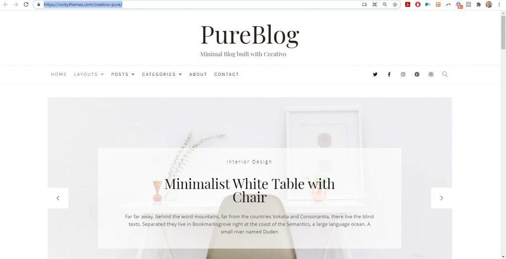 best wordpress theme for bloggers